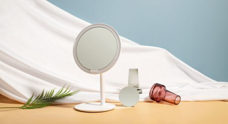 AMIRO Mirror's Sunlight-Simulating Design Shines Bright
