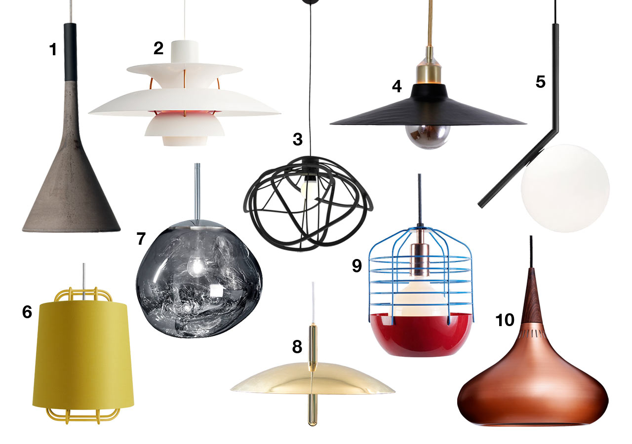 Light it Up! 10 Modern Pendant Lamps