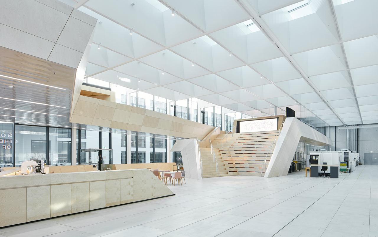 Snøhetta Designs Modern Crystal Workshop for Swarovski Manufaktur