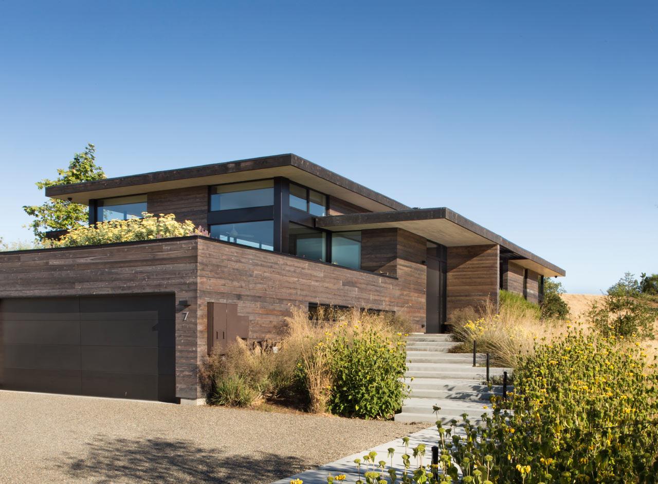 Feldman Architecture Designs The Meadow Home on a Prairie - Design Milk