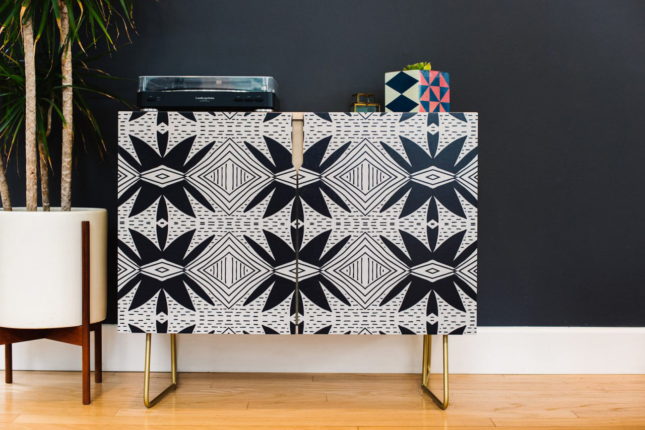 Modern Credenzas from Society6