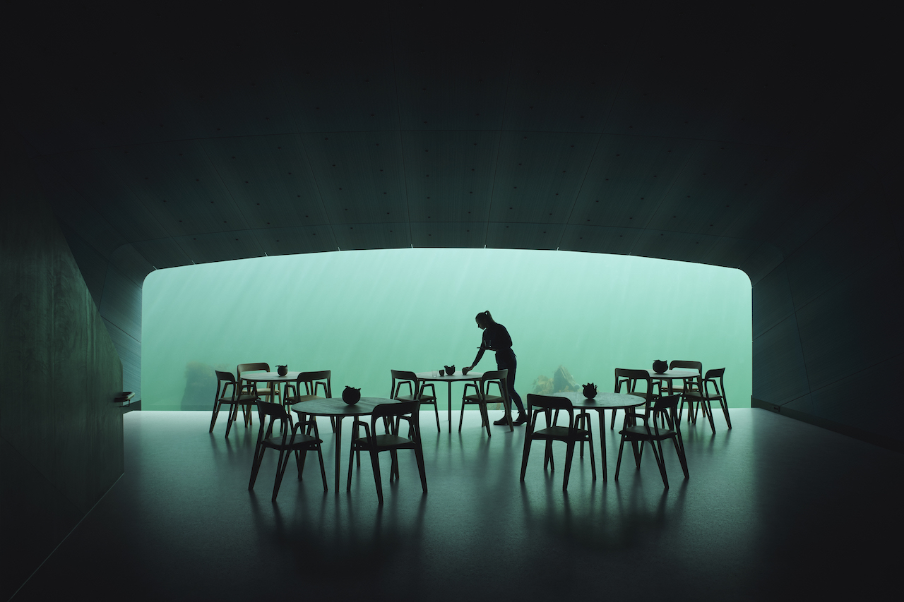 "Snøhetta's ""Under"" Is Europe's First Underwater Restaurant"