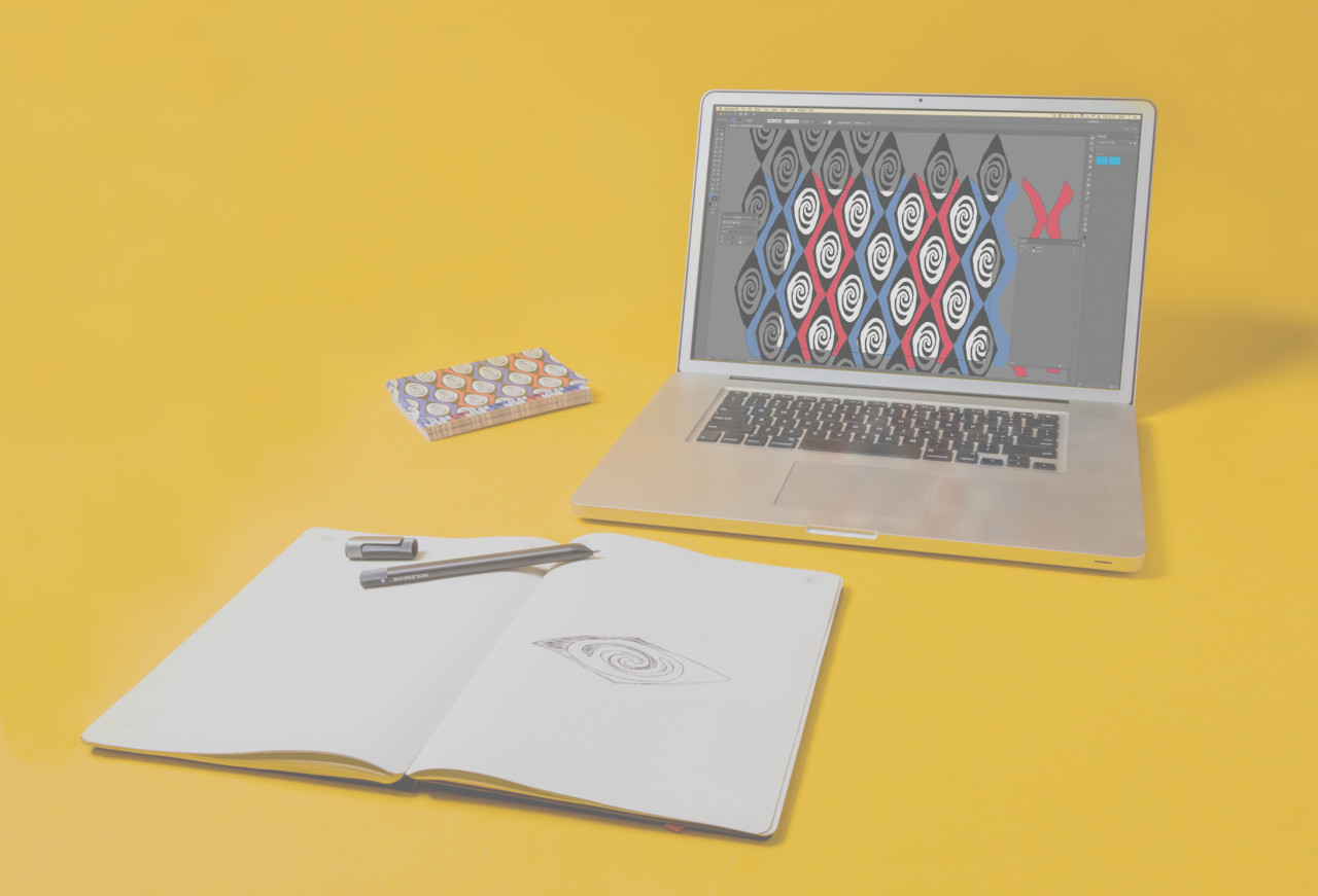 Moleskine Instantly Transforms the Hand Drawn into Adobe Illustrator Digital Art