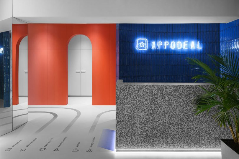 Studio 11 Uses Color and Graphic Details for Appodeal's Minsk Office