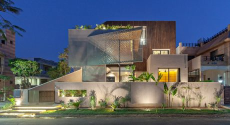 Chhavi House: A Desert Villa in Jodhpur by Abraham John Architects