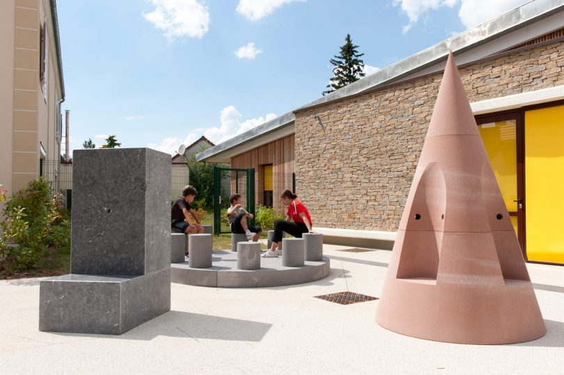Conversations Is a Sculptural Playground That Invites Kids to Play & Chat