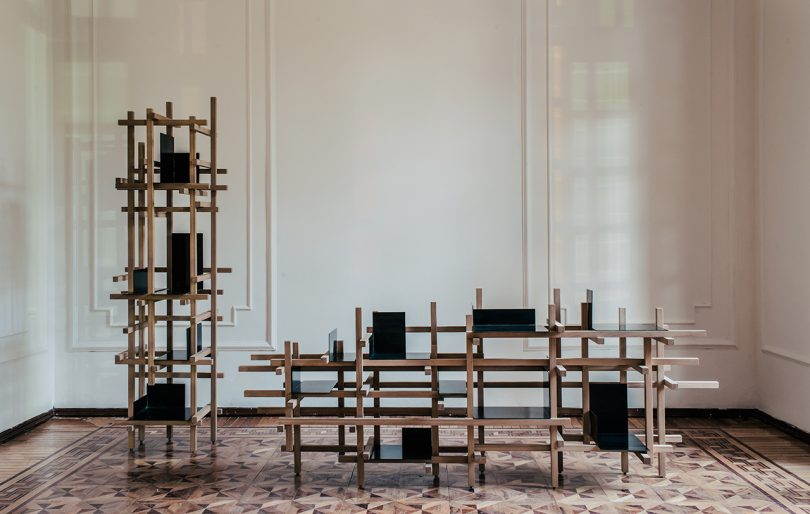 The Trama Collection Is Inspired by Temporary Construction Structures