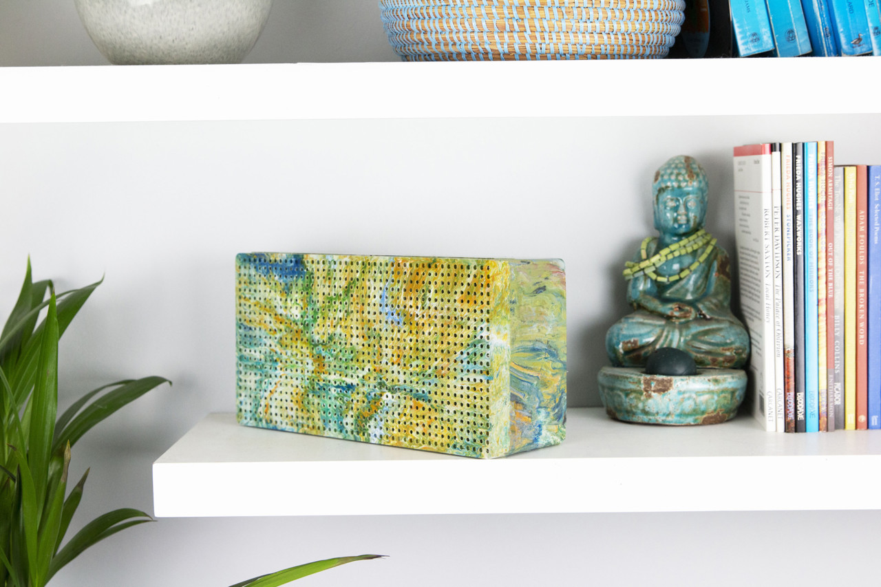 100 Plastic Bags Are Recycled Into One of These Beautiful Wireless Speakers
