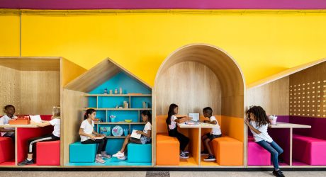 The Hayarden School for Refugee Children in Tel Aviv by Steinberg Fisher