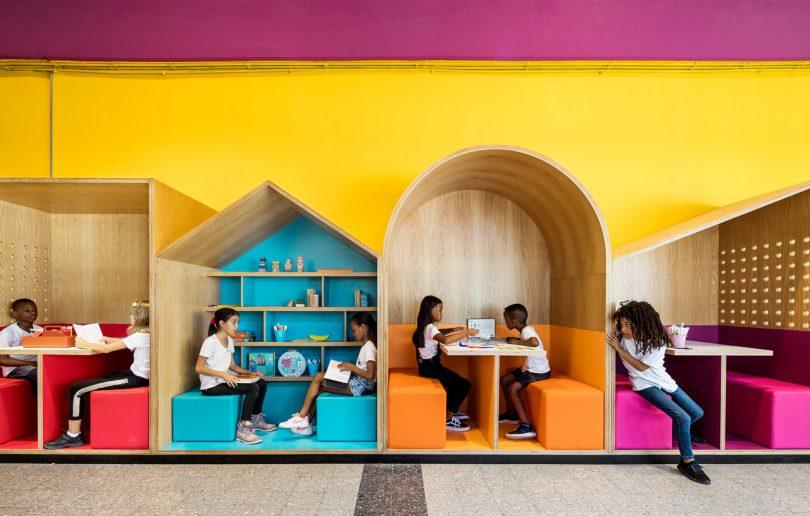 The Hayarden School for Refugee Children in Tel Aviv by Steinberg Fisher