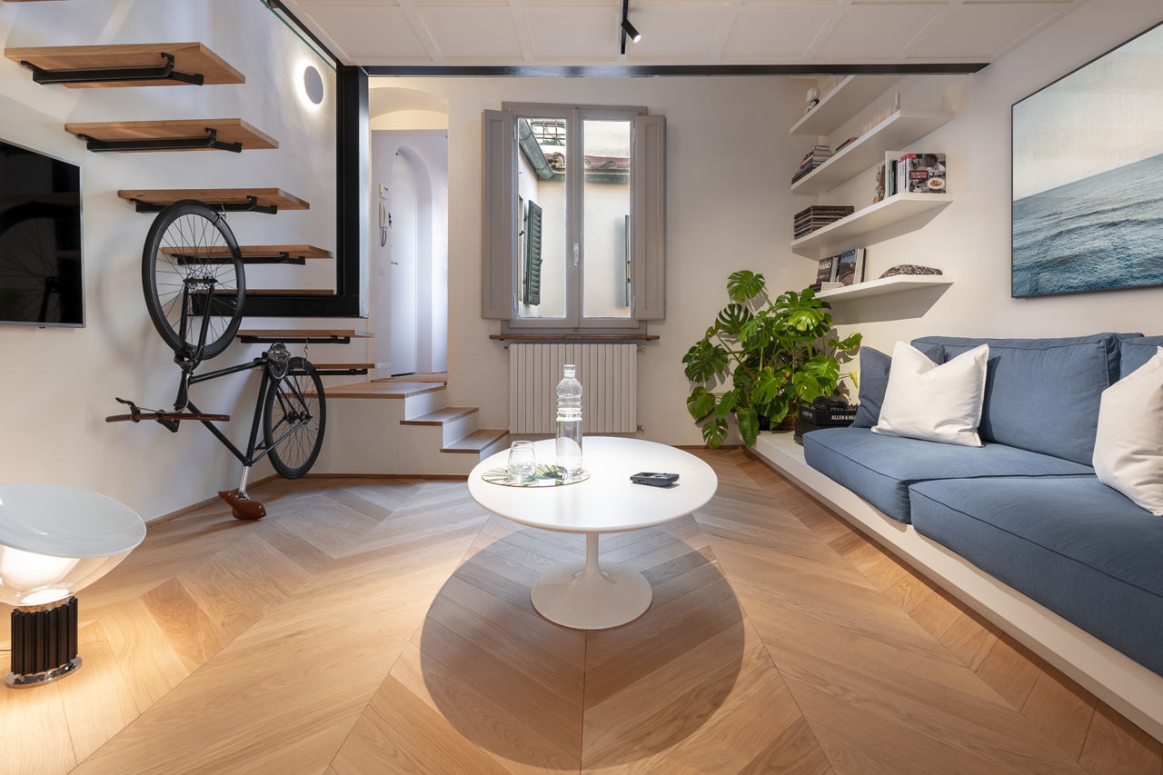 Flat Eleven Is a 50 sqm Flat in the Heart of Florence