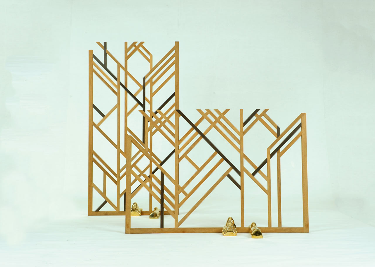 The Geometric Stick Screen Born From a Collaboration Between Two Thai Companies