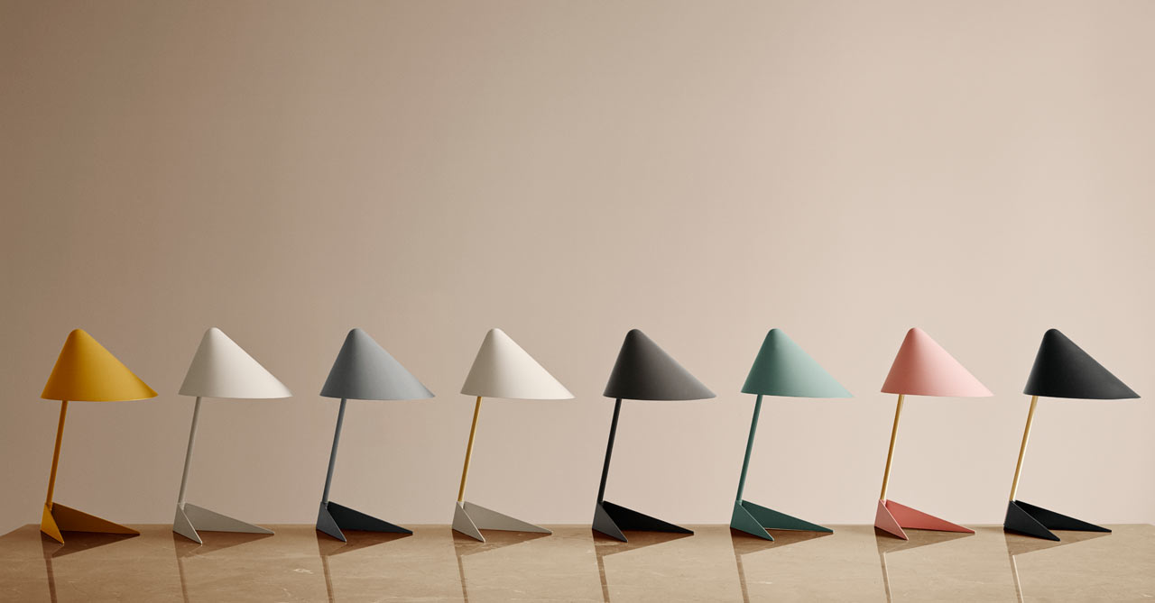 Warm Nordic Unveils a Mid-Century Table Lamp Named Ambience