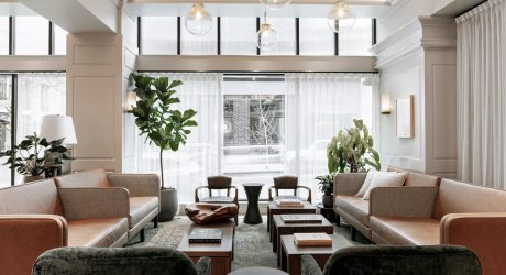 "The Woodlark Hotel in Portland Becomes a Modern ""House of Welcome"""