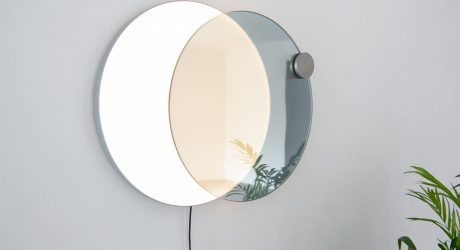 Atelier JM Designs a Wall Mirror That Mimics an Eclipse