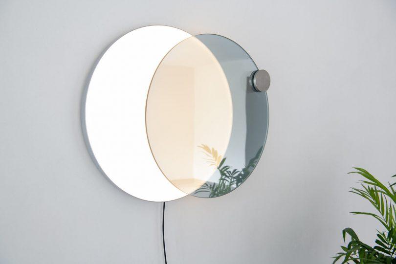 Atelier JM Designs a Wall Mirror That Mimics an Eclipse