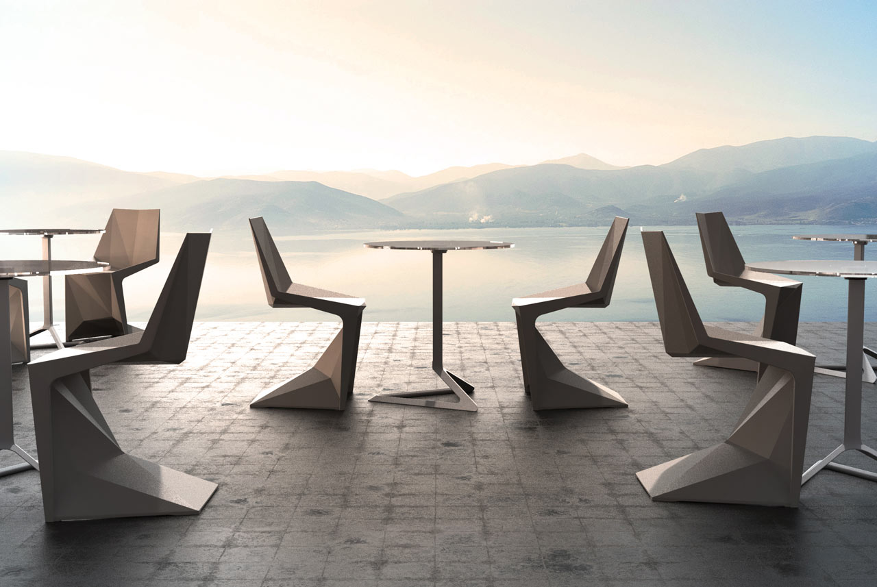 Vondom Teams up with Karim Rashid to Design the Voxel Chair