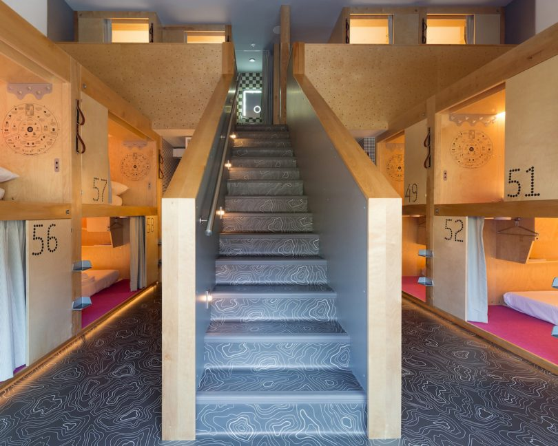 Japanese Pod Hotel Concept Springs up in the Ski Village of Whistler