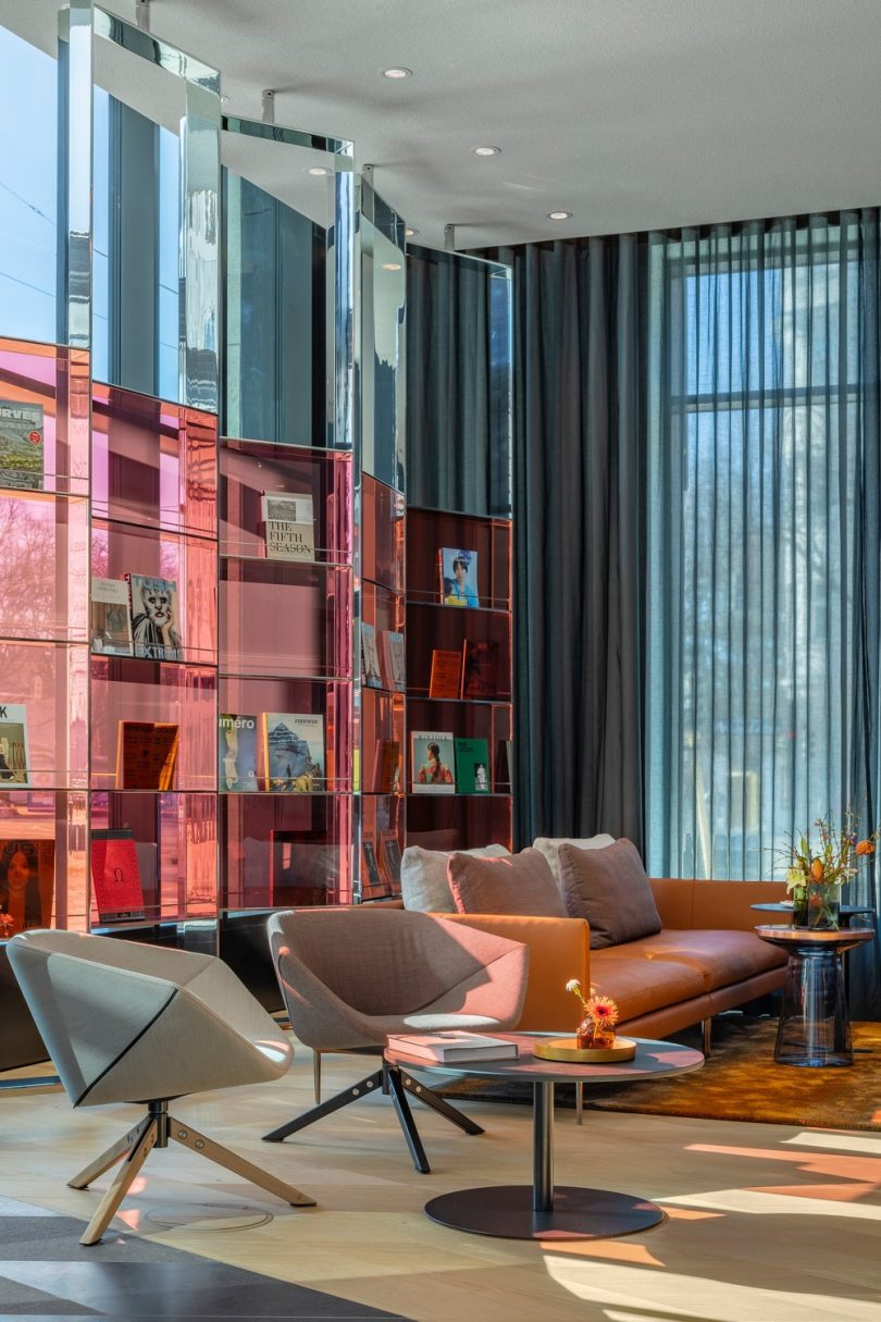 Germany?s First Andaz Hotel Replicates Diamonds in the Bavarian Flag