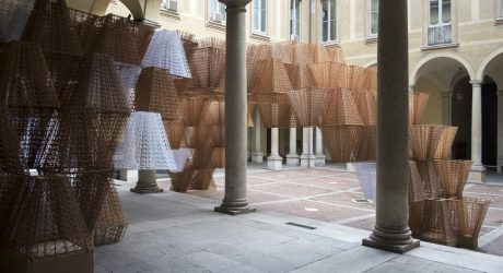 COS x Mamou-Mani's Conifera Installation Bridges the Worlds of Nature, Architecture and Technology