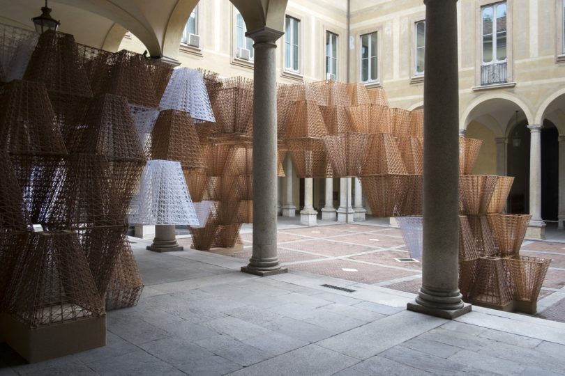 COS x Mamou-Mani?s Conifera Installation Bridges the Worlds of Nature, Architecture and Technology