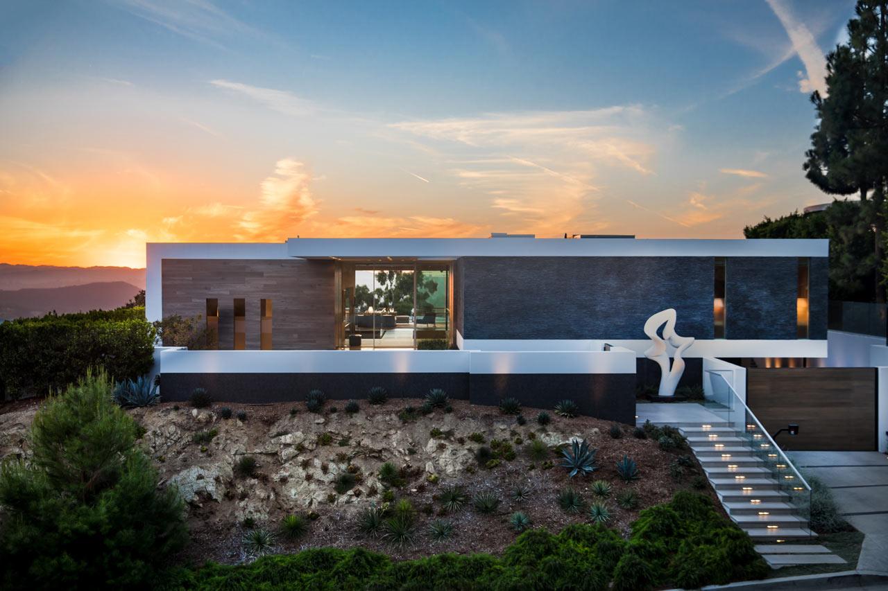 The Ultra-Custom, Hilltop Carla Ridge Residence in Beverly Hills