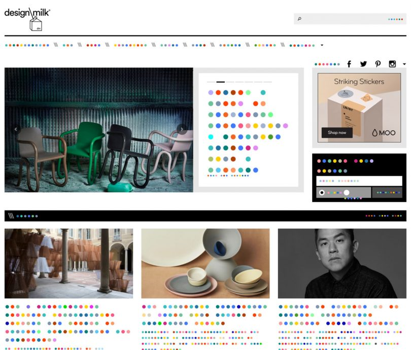 The Color Dot Font Communicates with the Language of Color