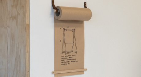 George and Willy Release a New Kraft Paper Roll Dispenser