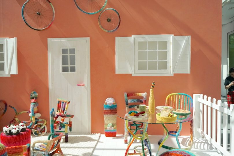 MDW19: Missoni and Alessandra Roveda Create Playful Home with Crochet