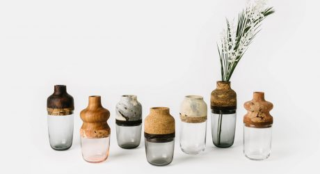 Melanie Abrantes Designs Vases Made from Scrap Materials