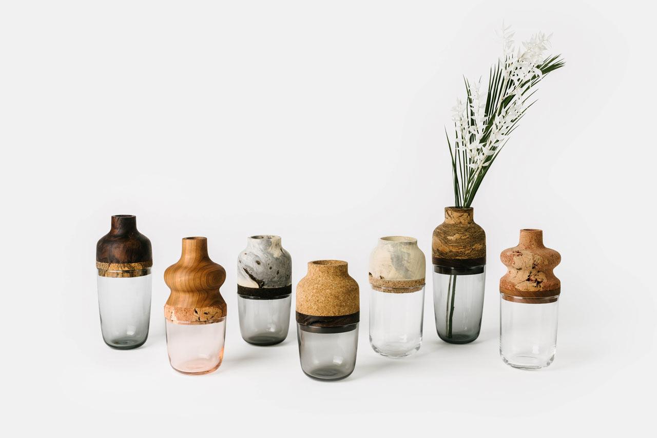 Melanie Abrantes Designs Vases Made from Scrap Materials