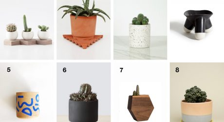 8 Succulent Planters to Get Your Indoor Garden Started
