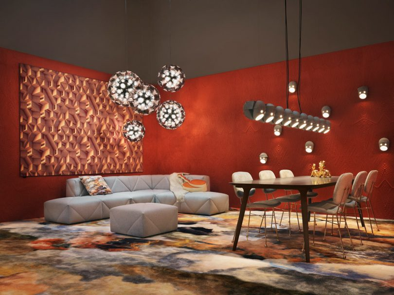 Moooi's A Life Extraordinary Showcased New Designs at Salone
