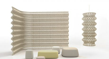 Woven Felt Becomes the 3D PLECTERE Acoustic Textile