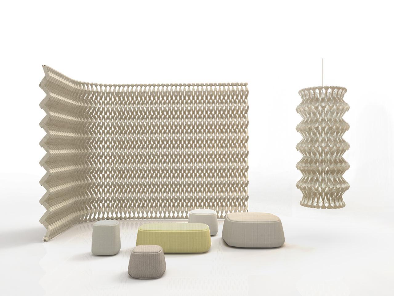 Woven Felt Becomes the 3D PLECTERE Acoustic Textile