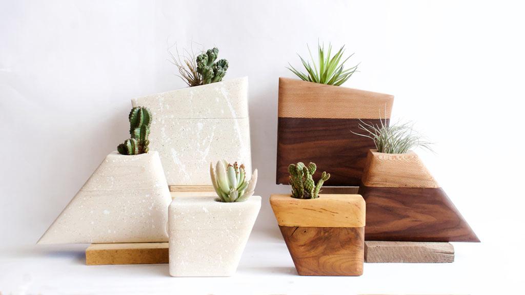 Planturns: Modern, Minimalist Cremation Vessels by Boyce Studio