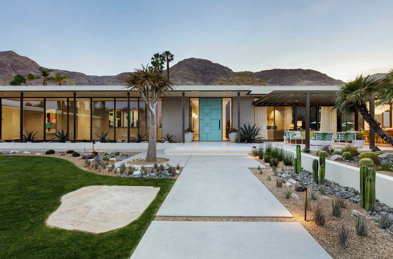 Stuart Silk Architects Updates a Mid-Century House in Rancho Mirage