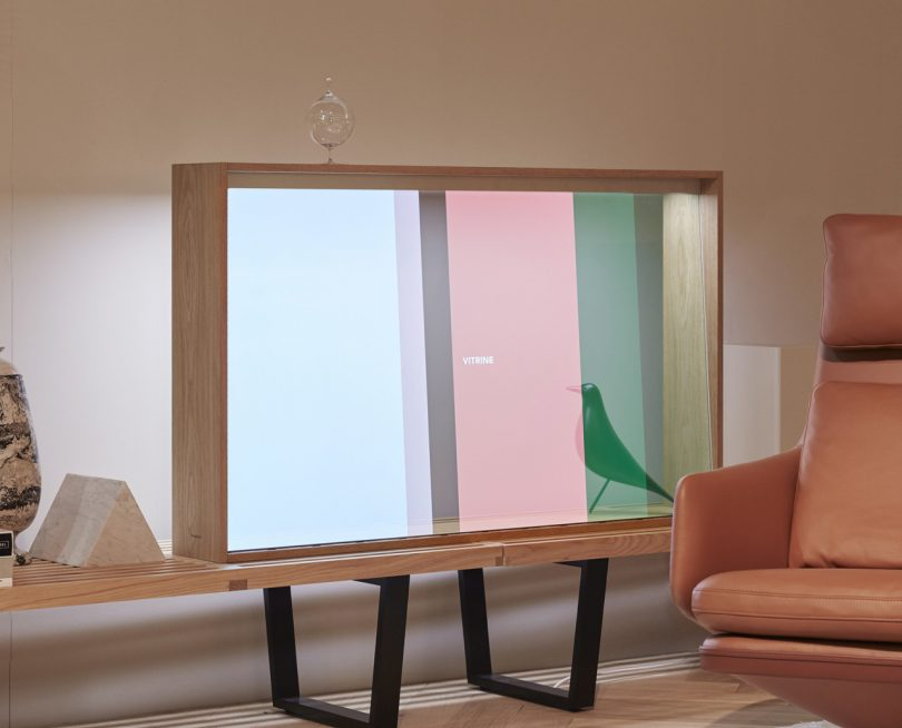 Panasonic and Vitra Transparent OLED Technology Is a Pane in the Glass