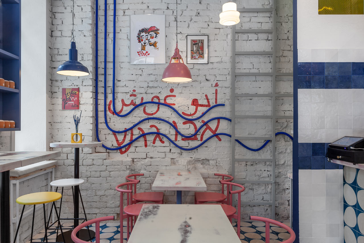 A Colorful Street Food Restaurant Concept in Moscow