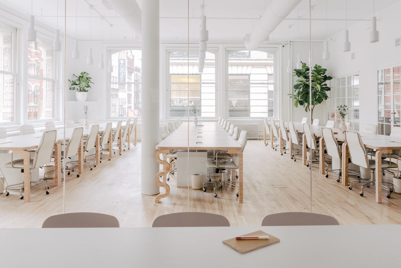 Michael Yarinsky Designs a New, Minimalist Headquarters for Billie