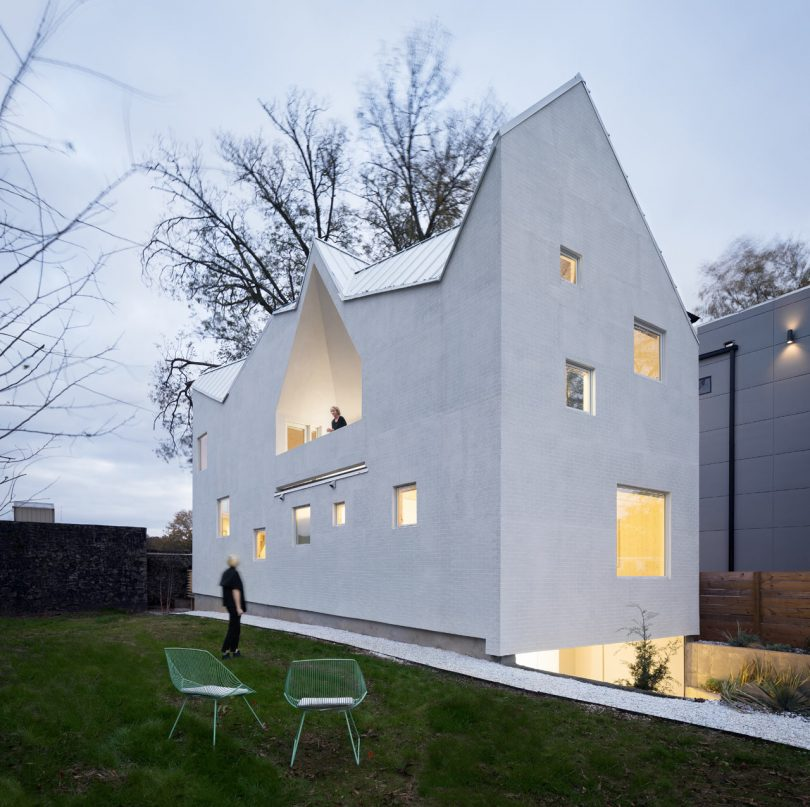 Haus Gables Takes an New Approach with its Unique Gabled Roof