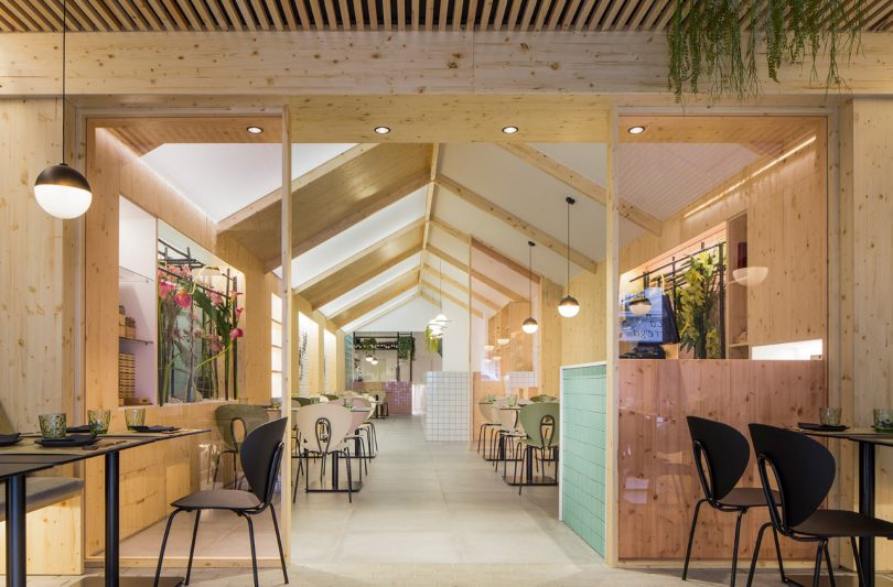 The Kamon Restaurant Combines Traditional Japanese and Nordic Design