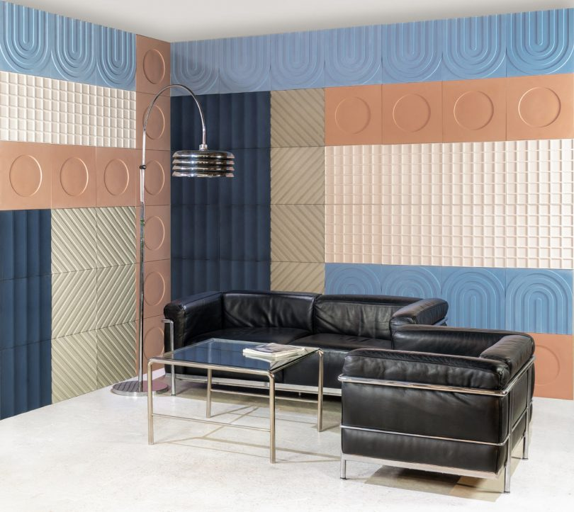KAZA Concrete Releases a Bauhaus-Inspired Tile Collection by Aimee Munro