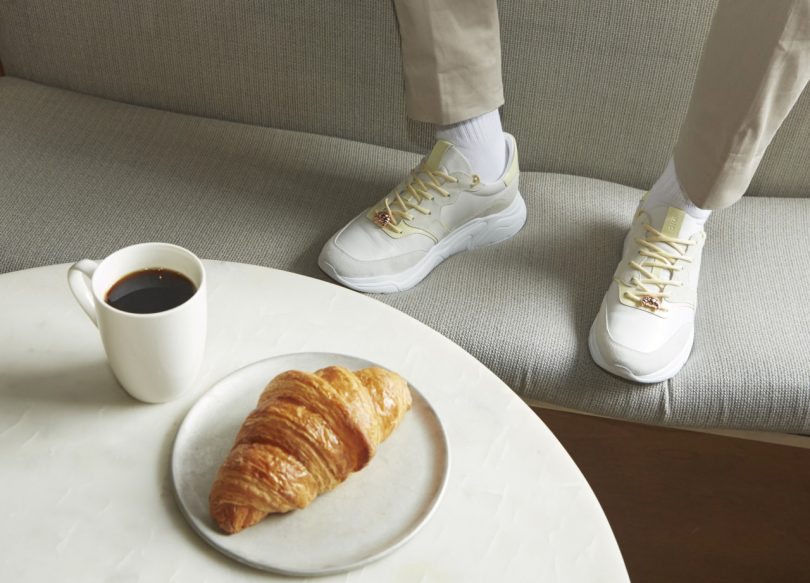 Koio x Dominique Ansel Avalanche Croissant-Inspired Sneaker