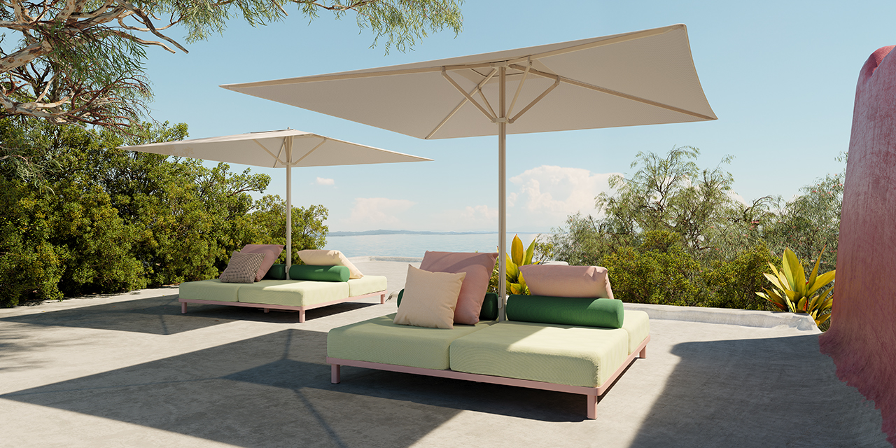 Meteo Adds Three Functional Adaptations to Its Umbrella Base