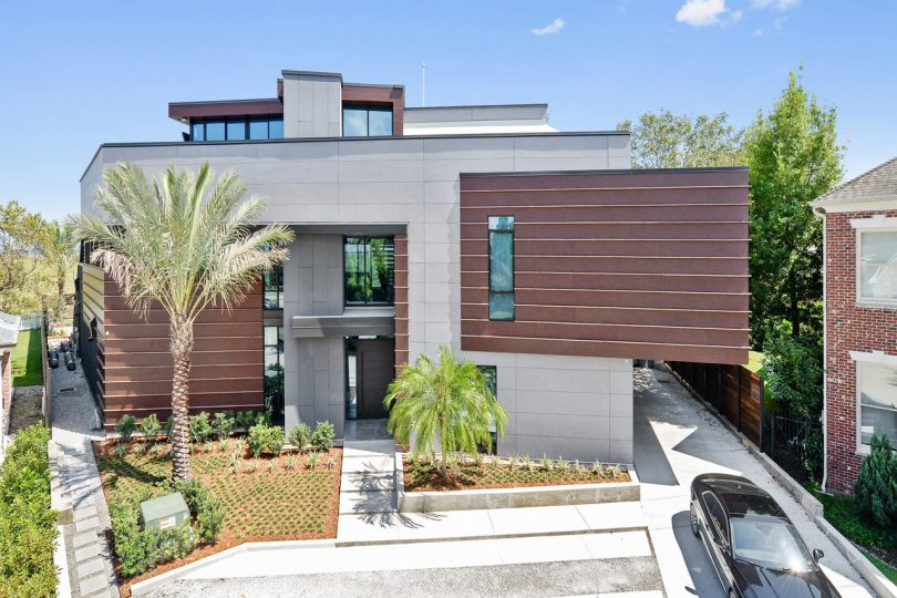 The Miller Lane Residence Is Designed with Hurricanes in Mind