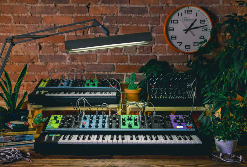 the moog matriarch joins the family at moogfest 2019 design milk. Black Bedroom Furniture Sets. Home Design Ideas