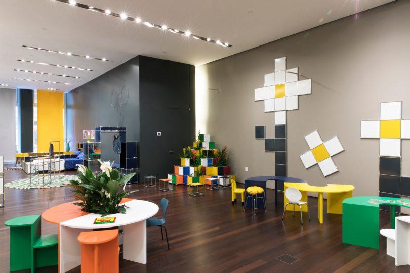 USM + kinder MODERN: A Colorful Wonderland for NYCxDesign