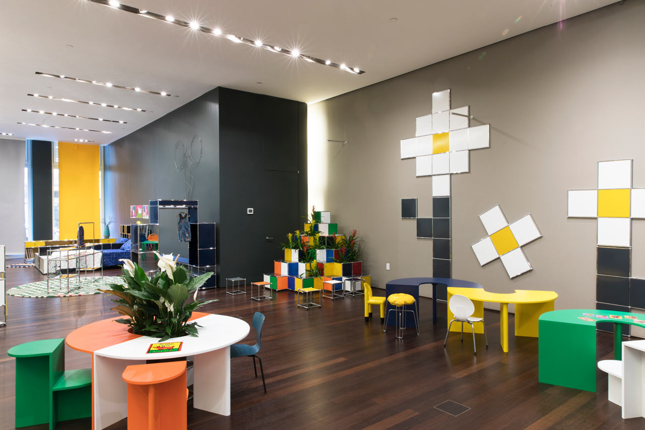 USM + kinder MODERN: A Colorful Wonderland for NYCxDesign