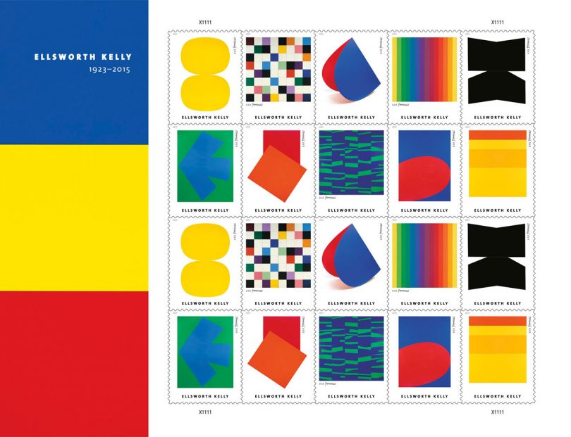 The USPS Is Making All of Our Ellsworth Kelly Dreams Come True